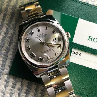 ロレックス(ROLEX)の【まりも様専用‼︎新品未使用‼︎】ロレックス デイトジャスト 116200 完品(腕時計(アナログ))