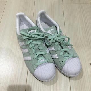 アディダス(adidas)のアディダス スニーカー ミントグリーン(スニーカー)