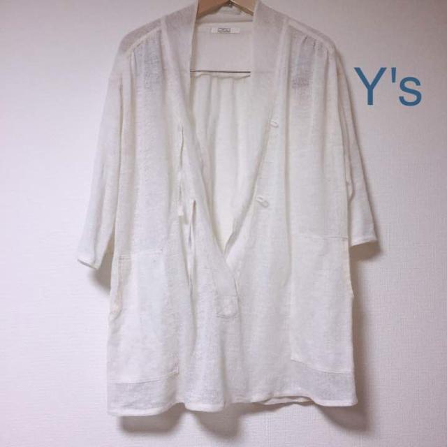 Y's(ワイズ)のY's☆麻混☆ユニセックス レディースのトップス(シャツ/ブラウス(半袖/袖なし))の商品写真