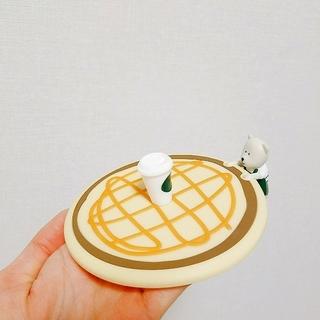 スターバックスコーヒー(Starbucks Coffee)のミニーさん専用☆スターバックス台湾 マグカップ用の蓋(グラス/カップ)