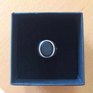 ロンハーマン(Ron Herman)のTOMWOOD オーバル 黒 925 シルバーリング(リング(指輪))