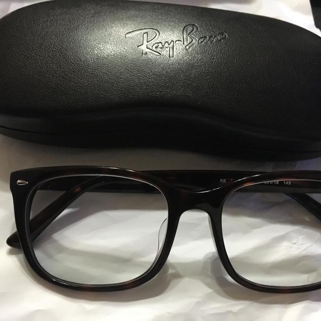 Ray-Ban(レイバン)のレイバン 伊達メガネ メンズのファッション小物(サングラス/メガネ)の商品写真