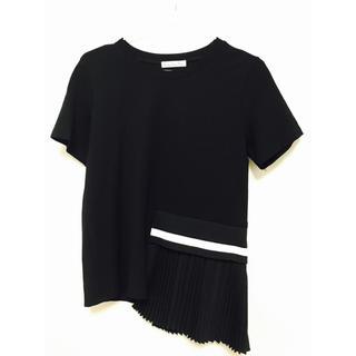 スリーフォータイム(ThreeFourTime)の変形プリーツ トップス(Tシャツ(半袖/袖なし))