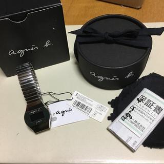 アニエスベー(agnes b.)のwalkblind様専用 電池OK 新品タグ付き アニエス 腕時計(腕時計)