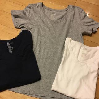 ムジルシリョウヒン(MUJI (無印良品))の無印良品VネックTシャツ⭐︎(Tシャツ(半袖/袖なし))