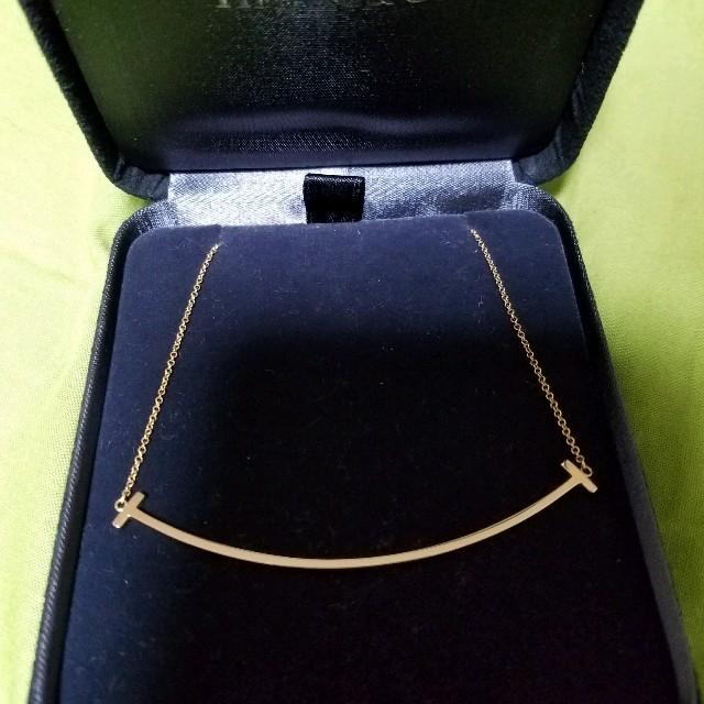 Tiffany & Co.(ティファニー)のティファニー Tスマイル 最終価格です レディースのアクセサリー(ネックレス)の商品写真