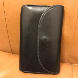 ホワイトハウスコックス(WHITEHOUSE COX)のホワイトハウスコックス Whitehouse cox 三つ折り財布 ネイビー(折り財布)