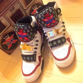 エスピーエックス(SPX)のSPX ハイカット スニーカー BIGBANG 2NE1 愛用 激レア 23㎝(スニーカー)