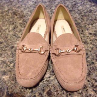 ランダ(RANDA)の値下♡美品♡ヌードピンクのローファー(ローファー/革靴)