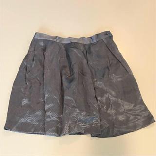 シェル(Cher)のcher Bianca's closet 新品珍しいカラーのスカート雑誌連載(ミニスカート)