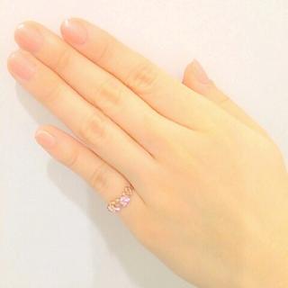サマンサティアラ(Samantha Tiara)のサマンサティアラ ピンキーリング k18(リング(指輪))