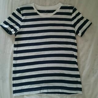 ムジルシリョウヒン(MUJI (無印良品))の無印 ボーダーTシャツ (Tシャツ(半袖/袖なし))