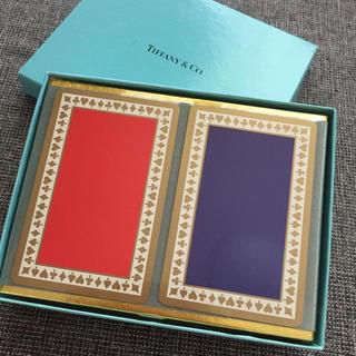 ティファニー(Tiffany & Co.)の新品未開封 ティファニートランプ2セット(トランプ/UNO)