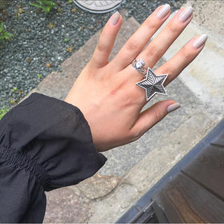 【数量限定】big star silver ring(リング)
