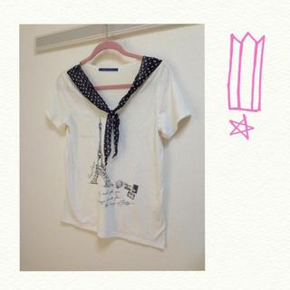 ジエンポリアム(THE EMPORIUM)のエッフェル塔Tシャツ(Tシャツ(半袖/袖なし))