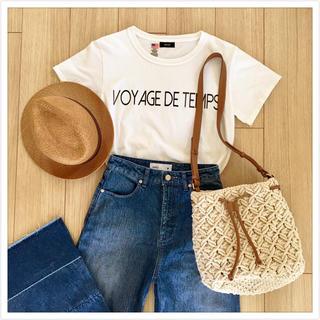 ノンブルアンベール(nombre impair)のシンプルロゴTシャツ♡rapiecage(Tシャツ(半袖/袖なし))