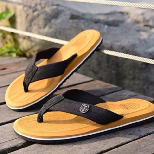 履き心地抜群! サンダル メンズサンダル ビーチサンダル ダークブラウン 44 メンズの靴/シューズ(サンダル)の商品写真