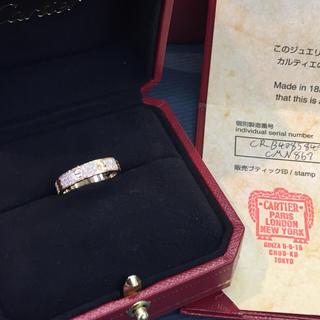 カルティエ(Cartier)の✨美品✨ カルティエ パヴェダイヤミニラブリング(リング(指輪))