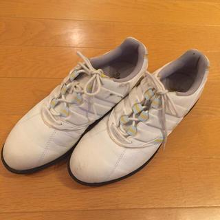 アディダス(adidas)の【adidas アディダス】ゴルフシューズ 24.5cm(シューズ)