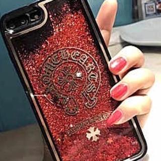 クロムハーツ(Chrome Hearts)のちゆん様専用 クロムハーツ レッド&ピンク(iPhoneケース)