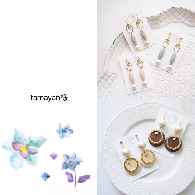 tamanyan様 専用 ハンドメイドのアクセサリー(ピアス)の商品写真