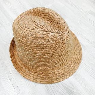 ケービーエフ(KBF)のKBF 麦わらぼうし 美品(麦わら帽子/ストローハット)