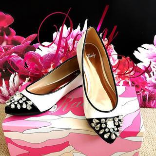 レディー(Rady)のRady ビジューフラットシューズM(ローファー/革靴)