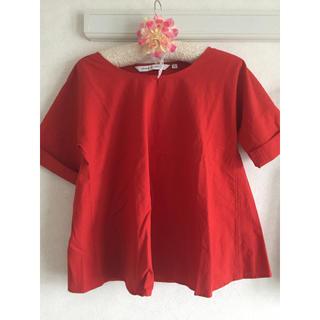 ルメール(LEMAIRE)のUNIQLO ルメール コラボ シアサッカーTシャツ(シャツ/ブラウス(半袖/袖なし))