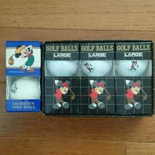 ディズニー(Disney)のミッキー  ゴルフボール(ゴルフ)