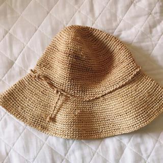 ムジルシリョウヒン(MUJI (無印良品))の無印良品 ラフィア椰子 麦わら帽子 ストローハット(麦わら帽子/ストローハット)