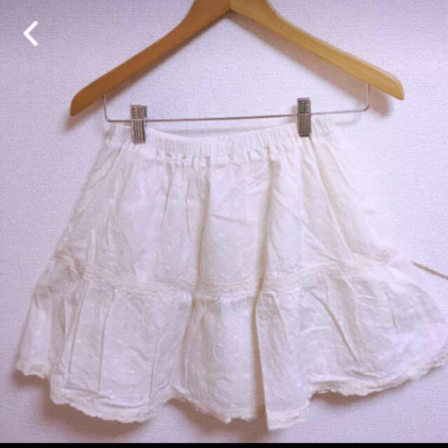 HONEYS(ハニーズ)の【美品♡】ハニーズ♡ホワイトのフリルスカート♡ レディースのスカート(ひざ丈スカート)の商品写真