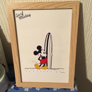 ディズニー(Disney)の平日sale‼︎ サーフミッキー  インテリアポスター(ポスター)