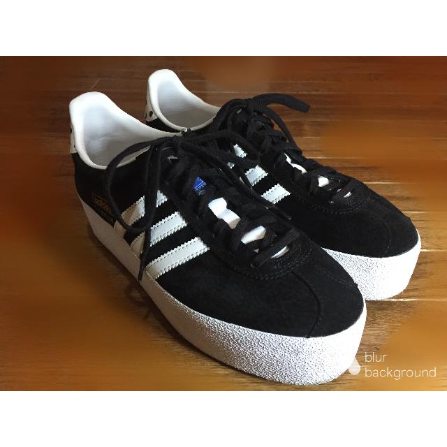 adidas(アディダス)のアディダス オリジナルス プラットフォームスニーカー ブラック 24.5cm レディースの靴/シューズ(スニーカー)の商品写真