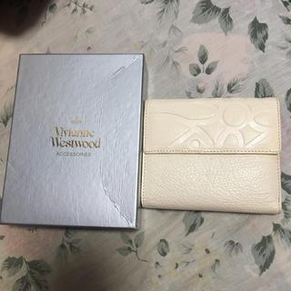 ヴィヴィアンウエストウッド(Vivienne Westwood)のVivienne Westwood 財布 中古 ヴィヴィアン 白(財布)