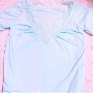 ラヴィジュール(Ravijour)のRavijour 水色カットソー(カットソー(半袖/袖なし))
