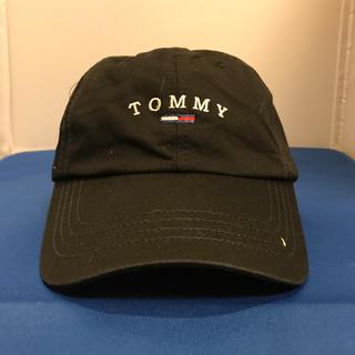 トミーヒルフィガー(TOMMY HILFIGER)のTommy Hilfiger cap トミーヒルフィガー キャップ ブラック(キャップ)