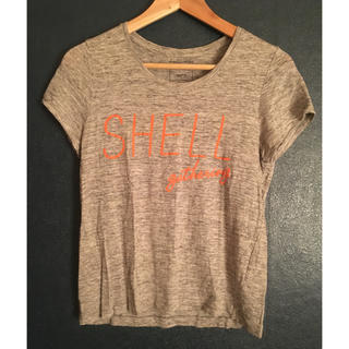 シップスフォーウィメン(SHIPS for women)のリネンtシャツ(Tシャツ(半袖/袖なし))