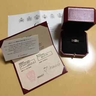 カルティエ(Cartier)のカルティエ タンク 12号(リング(指輪))