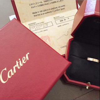 カルティエ(Cartier)のたまたん様✴︎loveリング新品未使用品!!(リング(指輪))
