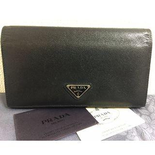 プラダ(PRADA)のPRADA/プラダ サフィアーノ 長財布/二つ折り財布 (財布)