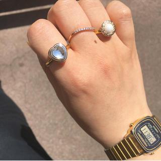 【大人気リング】gold heart ring(リング)