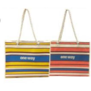 ワンウェイ(one*way)のoneway 限定ショッパー オレンジ(ショップ袋)