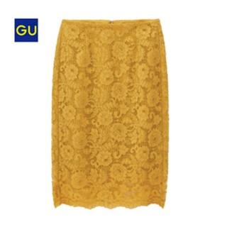 ジーユー(GU)のGU レースタイトスカート(ひざ丈スカート)
