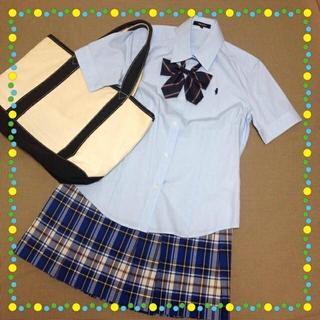 イーストボーイ(EASTBOY)の【school item】チェックスカート(ひざ丈スカート)