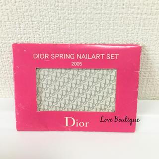 クリスチャンディオール(Christian Dior)のDior ネイルシール ノベルティ ブランド ジェルネイル(ネイル