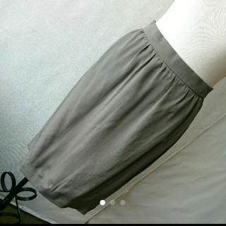 アクリス(AKRIS)のAKRIS シルクスカート(ひざ丈スカート)