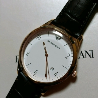 エンポリオアルマーニ(Emporio Armani)のyuki様専用 ☆新品 EMPORIO ARMANI ベータ メンズ腕時計(腕時計(アナログ))