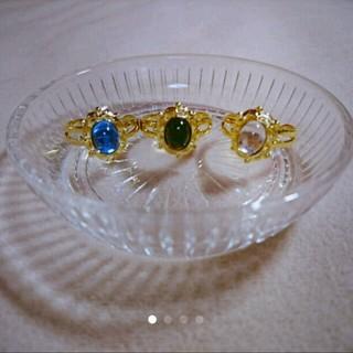 スワロフスキー(SWAROVSKI)のヴィンテージスワロフスキーの指輪(リング)