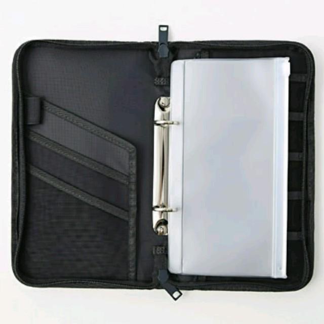 MUJI (無印良品)(ムジルシリョウヒン)の無印良品 パスポートケース インテリア/住まい/日用品の日用品/生活雑貨/旅行(旅行用品)の商品写真