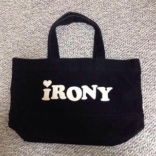 アイロニー(IRONY)のironyミニトート(トートバッグ)